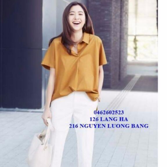 Combo áo dáng rộng xuất Nhật