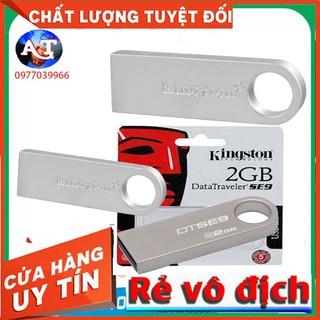 USB Kingston 2gb vỏ thép kim loại nguyên khối có đủ định dạng NTFS VÀ FAT32