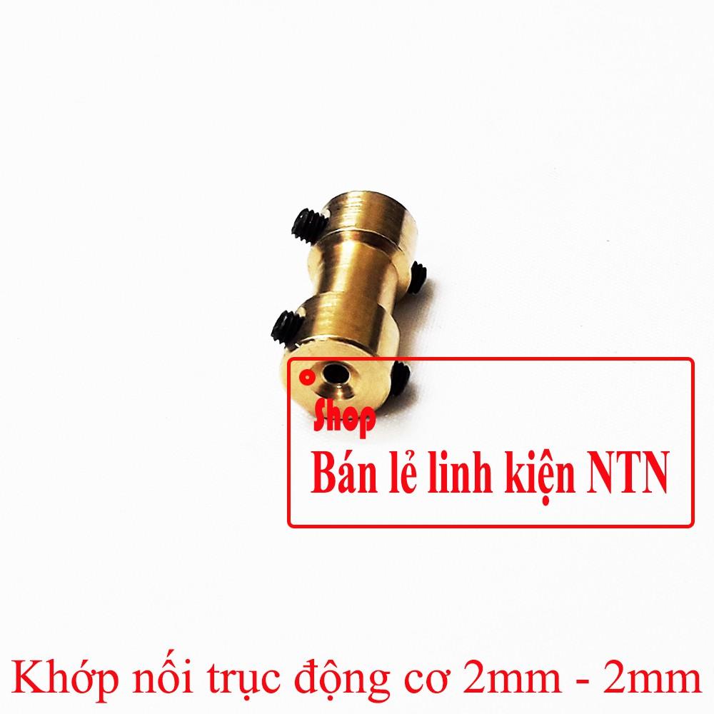 Khớp nối trục động cơ 2mm - 2mm - 3435963 , 1162927176 , 322_1162927176 , 14000 , Khop-noi-truc-dong-co-2mm-2mm-322_1162927176 , shopee.vn , Khớp nối trục động cơ 2mm - 2mm