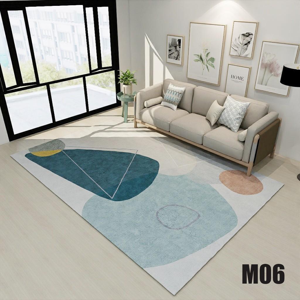 Thảm lì trải sàn,thảm trang trí phòng ngủ,phòng khách đa dạng mẫu mã,hàng sẵn