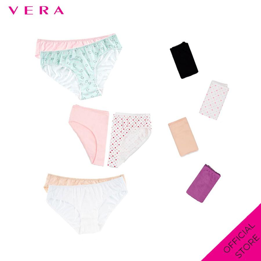 Combo 10 quần lót nữ thun lạnh Vera 6323