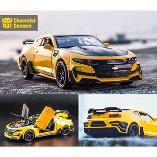 (NHẬP MÃ GIẢM GIÁ)Mô hình xe cao cấp Chevrolet Camaro Transformer tỉ lệ 1:32 (xe trần)