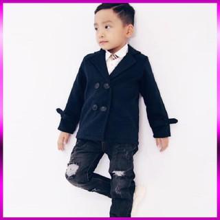 Áo dạ bé trai [ MỀM👏 MỊN ] Áo dạ cho bé trai có size to đến 30kg dầy dặn