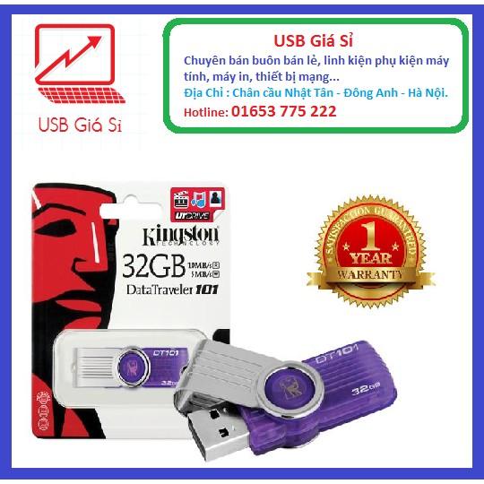 USB KINGTON 32GB Chuẩn 2.0