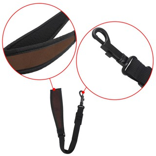 Adjustable Saxophone Sax Neck Strap with Snap Hook Saxophone Parts Accessories