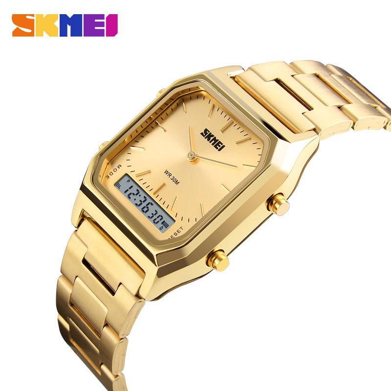 (Giá sỉ) Đồng hồ thời trang nam Skmei chạy kim và điện tử S79