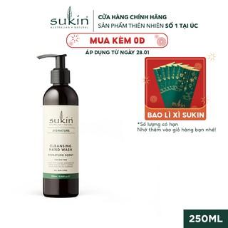 Gel Rửa Tay Sukin Signature Cleansing Hand Wash Signature Scent 250ml thumbnail