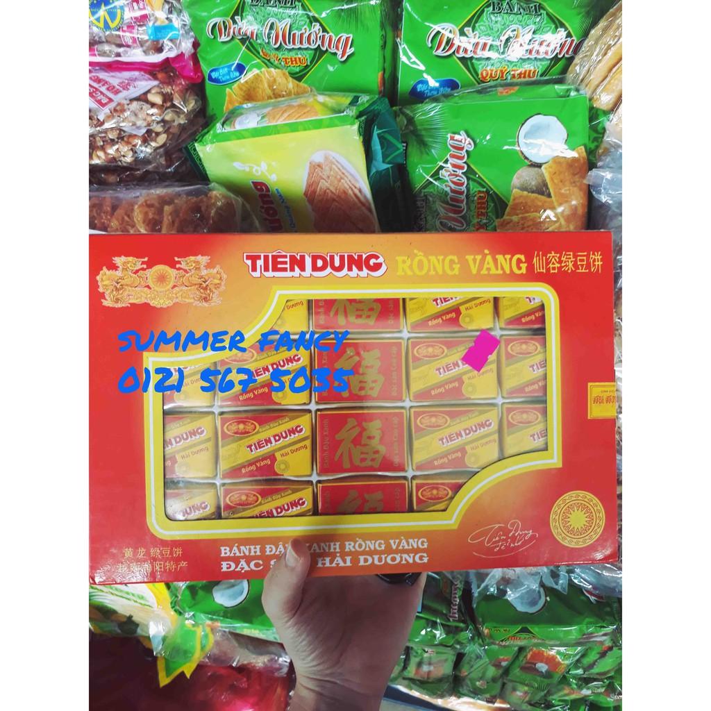 380g bánh đậu xanh Rồng Vàng Tiên Dung - loại hộp 380g