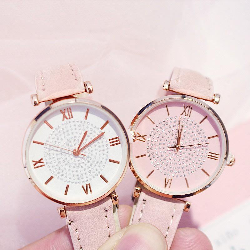 Đồng hồ đeo tay nữ thời trang Vanota phong cách Hàn Quốc DH24