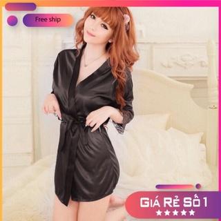 Áo choàng ngủ gợi cảm nữ sexy giúp chị em xinh đẹp U13 thumbnail