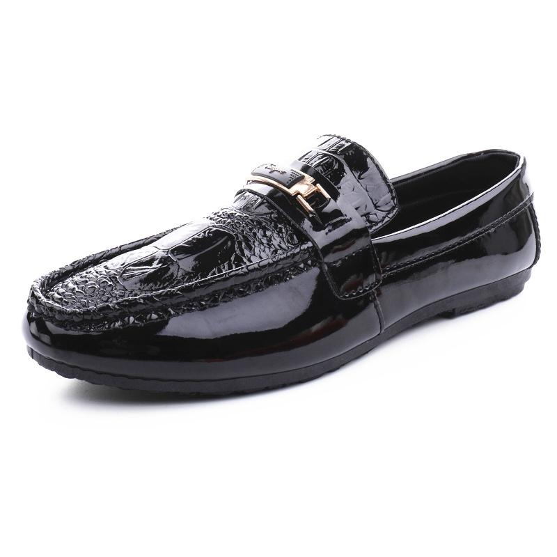 ฤดูใบไม้ร่วง 2019 คนใหม่ของรองเท้า Peas ระบายอากาศอังกฤษเวอร์ชั่นเกาหลีเหยียบขี้เกียจรองเท้าผู้ชายรองเท้าน้ำรองเท้าลำลอง