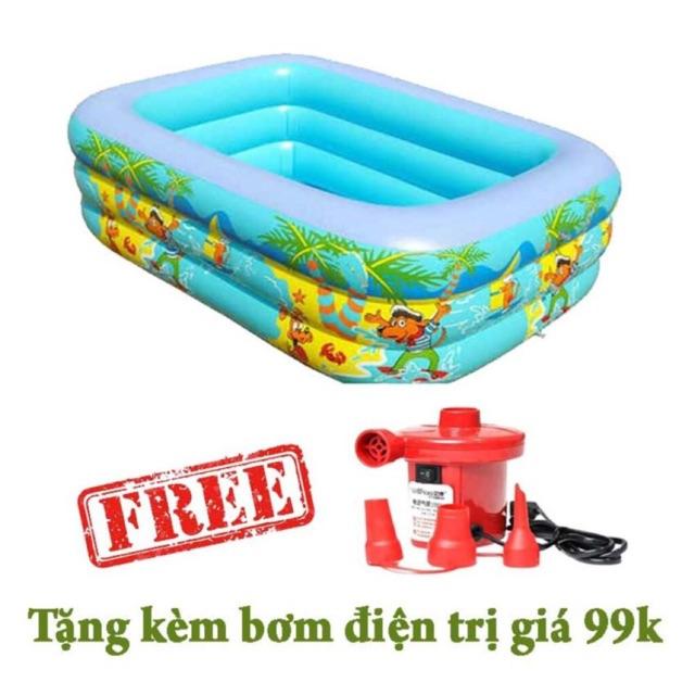 Bể bơi chữ nhật 3 tầng 1,5m tặng kèm bơm điện - 2939198 , 1157769805 , 322_1157769805 , 330000 , Be-boi-chu-nhat-3-tang-15m-tang-kem-bom-dien-322_1157769805 , shopee.vn , Bể bơi chữ nhật 3 tầng 1,5m tặng kèm bơm điện