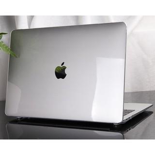 Combo 4in1 Case,Ốp Macbook Màu Trong Suốt (Tặng Kèm Miếng Dán Màn Hình,Nút Chống Bụi,Kẹp Chống Gãy Sạc)