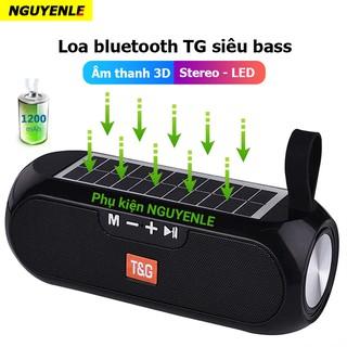 Loa bluetooth siêu bass năng lượng mặt trời 2021