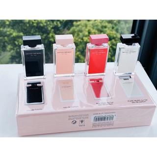 [FULL BOX_HỘP RIÊNG] SET Bộ Nước Hoa Narciso Rodriguez For Her Mini 4 Chai 7.5ml thumbnail