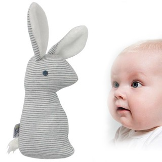 Baby Rattle Toy Multi-purpose Cute Rabbit Shape Plush Toy Infant Toy