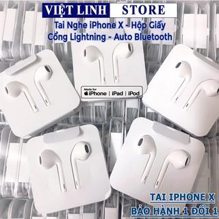 Tai nghe iPhone chính hãng Apple, Bluetooth, có mic cổng lightning - iPhone 7/8/7 Plus/8 Plus/X - Việt Linh Store