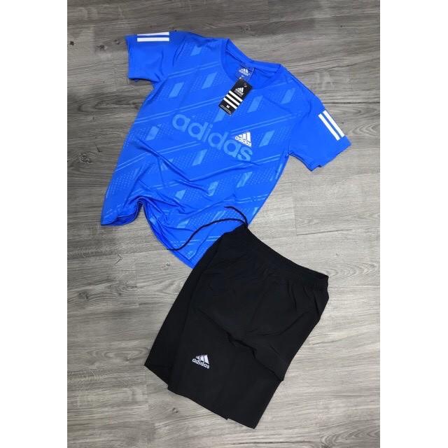 Bộ thể thao nam bộ đồ nam thun lạnh 6 màu 008