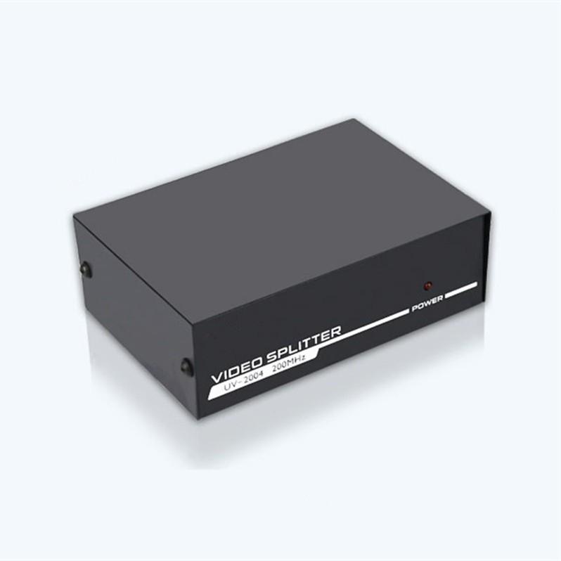 Bộ chia màn hình VGA 1 ra 2 giúp chia 1 máy tính ra 2 màn hình