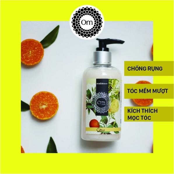 Dầu xả phục hồi và dưỡng tóc tinh dầu Bưởi, Cam, Quýt Om Fountain 250ml