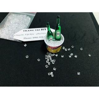 Mô hình 10g đá vụn mini phụ kiện trang trí nhà búp bê