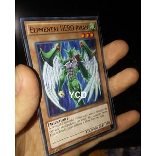 Thẻ bài yugioh chính hãng Elemental HERO Avian – Common