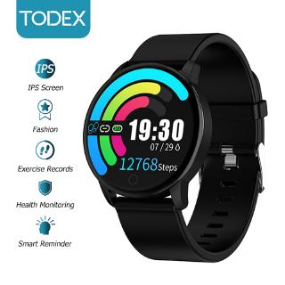 Đồng Hồ Thông Minh TODEX Q20 Chống Thấm Nước Đo Huyết Áp Nhịp Tim Oxygen Đa Năng Cho Ios / Android