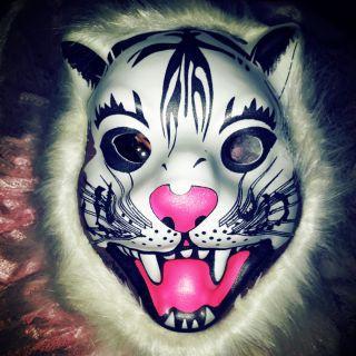 Mặt nạ hóa trang con hổ thị