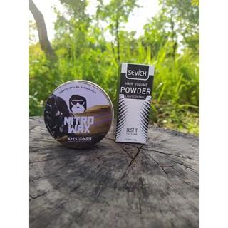 Sáp Vuốt Tóc Apestomen Nitro Wax - Tặng bột tạo phồng tóc