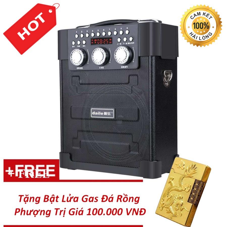 Loa kéo đa năng Bluetooth hát karaoke Daile S9 + Tặng Bl Ga Đá Rồng Phượng - 3393190 , 1258460474 , 322_1258460474 , 950000 , Loa-keo-da-nang-Bluetooth-hat-karaoke-Daile-S9-Tang-Bl-Ga-Da-Rong-Phuong-322_1258460474 , shopee.vn , Loa kéo đa năng Bluetooth hát karaoke Daile S9 + Tặng Bl Ga Đá Rồng Phượng