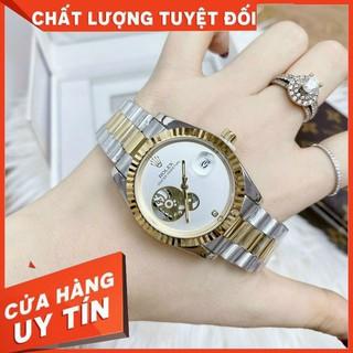 Đồng hồ nam ROLEX OYSTER PEREPTUAL mặt giả cơ size 38mm dây đúc hợp kim NGUYÊN KHỐI CHỐNG NƯỚC - BẢO HÀNH 12 THÁNG thumbnail