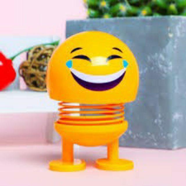 [ Sỉ ] Emoji Lò Xo Lắc Đầu Đồ Chơi Giải Trí Trang Trí Xe Hơi
