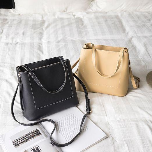 [Mã SKAMCLU7 giảm 10% tối đa 50K đơn 0Đ] Túi xách nữ da PU đeo chéo thời trang - T482