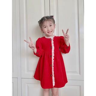 Váy cho bé gái từ 1 - 8 tuổi, đầm thời trang trẻ em hàng thiết kế cao cấp VNXK cho bé từ 6- 32 kg
