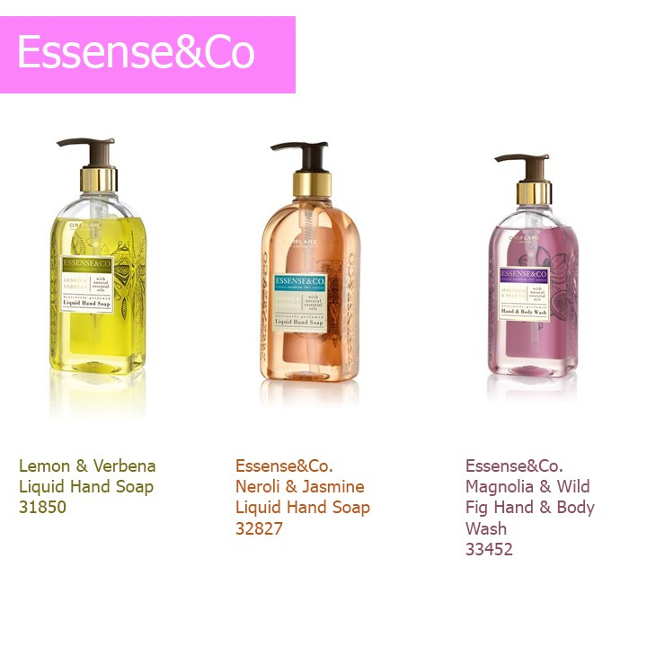 Nước rửa tay Essense & Co Liquid Hand Soap - Oriflame 31850 / 32827 - 2562283 , 701456862 , 322_701456862 , 93000 , Nuoc-rua-tay-Essense-Co-Liquid-Hand-Soap-Oriflame-31850--32827-322_701456862 , shopee.vn , Nước rửa tay Essense & Co Liquid Hand Soap - Oriflame 31850 / 32827