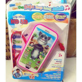 Điện thoại cảm ứng thông minh cho bé 12 chức năng !