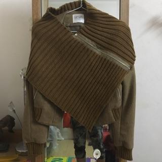 Áo dạ kèm khăn khoác chéo