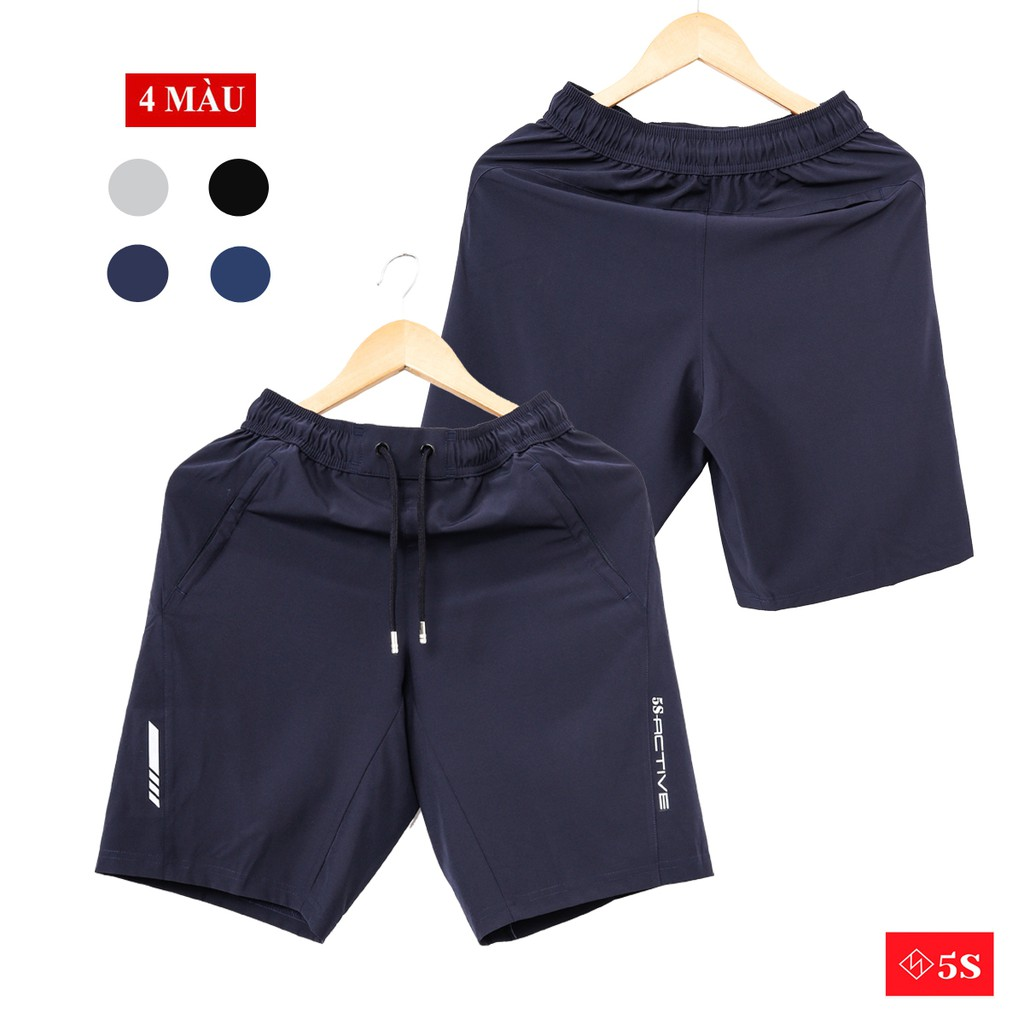 Quần Short Gió Nam 5S (4 màu) Vải Mềm, Siêu Nhẹ, Dáng Thể Thao (QSG002S1)