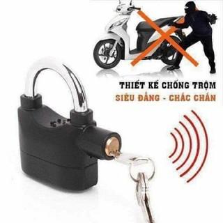 Khóa chống trộm có chuông báo động Kinbar ❤️FREESHIP❤️ Chống cắt, chống cường lực, hú khi có va chạm mạnh