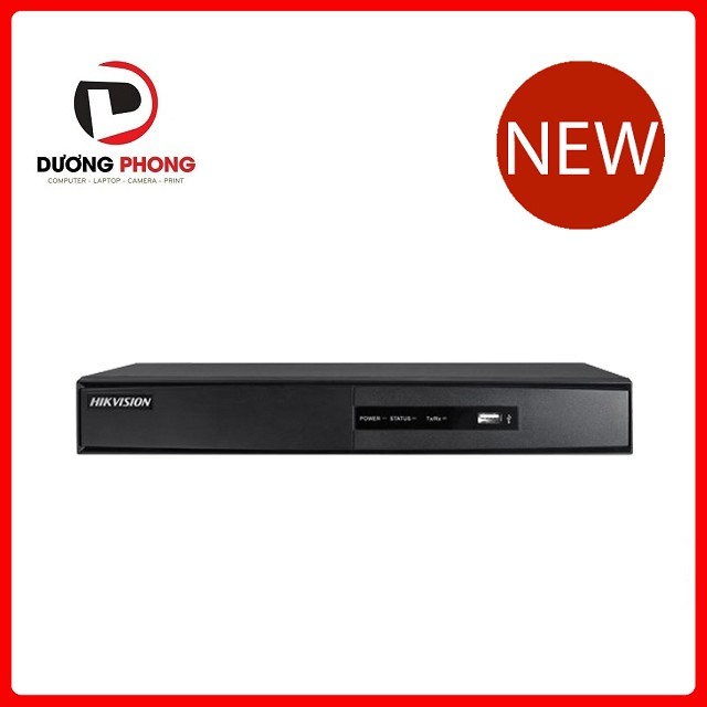 Đầu ghi hình HD-TVI 8 kênh TURBO 3.0 HIKVISION DS-7208HGHI-F1/N - BH 24 Tháng