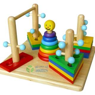 Đồ chơi gỗ Đường luồn kỳ thú Hãng Winwintoys