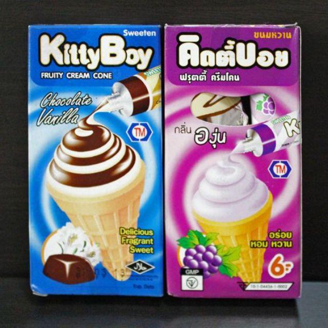 Bánh Ốc Quế Kem Thái Lan Kitty Boy - 3179700 , 735390946 , 322_735390946 , 7000 , Banh-Oc-Que-Kem-Thai-Lan-Kitty-Boy-322_735390946 , shopee.vn , Bánh Ốc Quế Kem Thái Lan Kitty Boy