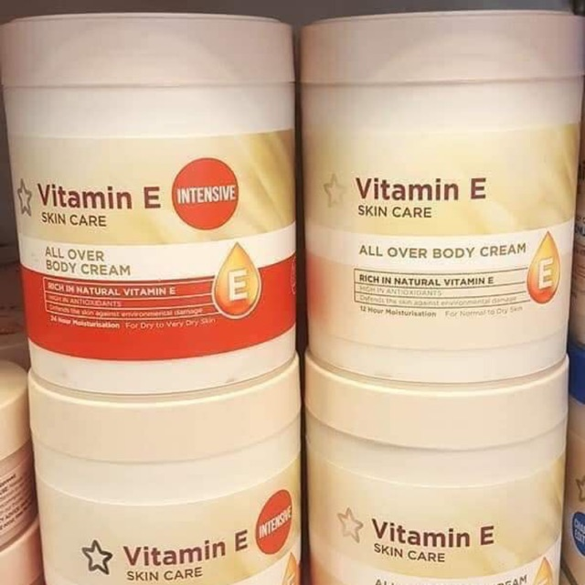 Hũ dưỡng thể Superdrugs Vitamin E Body