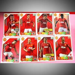 Set thẻ cầu thủ/thẻ bóng đá Manchester United Full