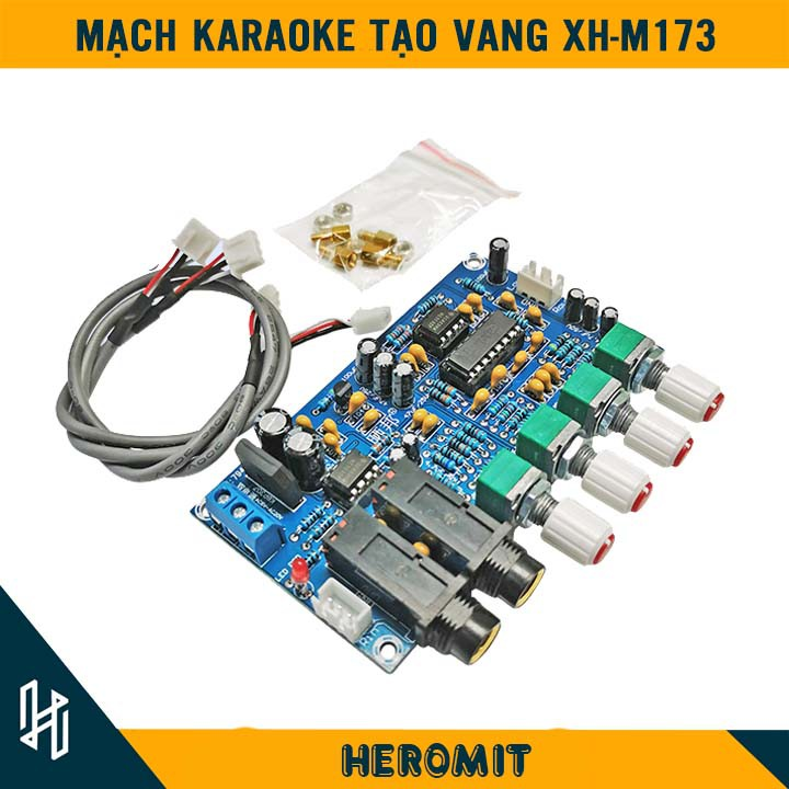 Mạch Karaoke tạo vang đủ phụ kiện M173