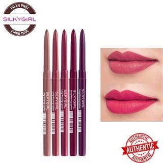 Chì Kẻ Viền Môi Rõ Nét, Lâu Trôi Silkygirl Long-Wearing Lip Liner 0.35g thumbnail