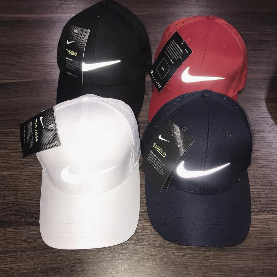 [ Thời trang cao cấp ] Mũ thời trang cao cấp logo phản quang Nike