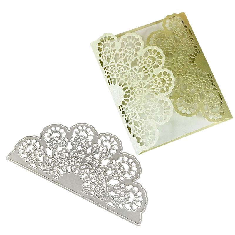 love*Hollow Lace Metal Cutting Dies Stencil DIY Scrapbooking Album Paper Card Embossing Crafts Decor