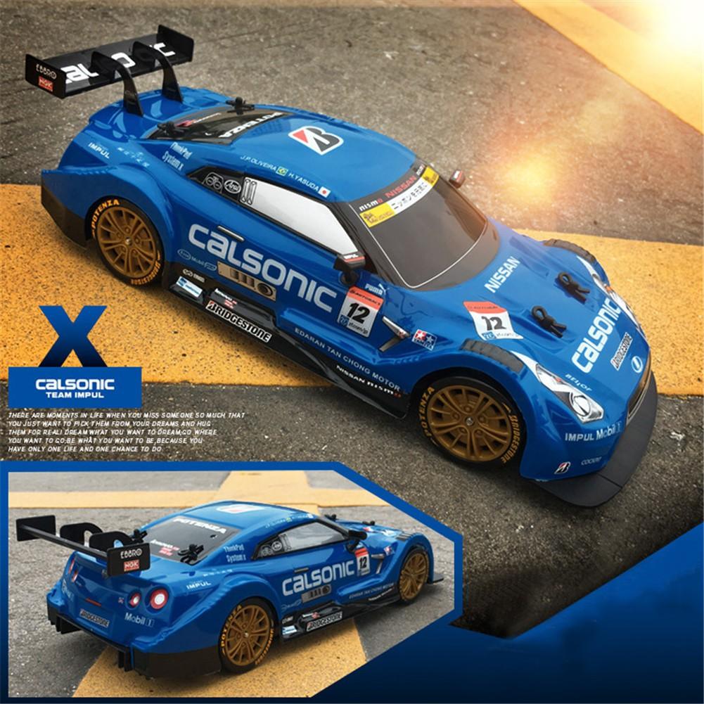 Mô hình xe đua điều khiển từ xa Drift Stunt tốc độ cao 2.4G 4WD GTR RC-F