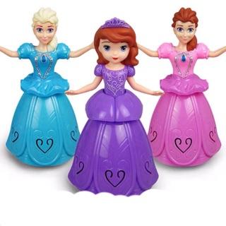 [Nhiều mẫu] Đồ chơi Lồng Đèn điện tử công chúa bạch tuyết và elsa cho bé chơi Trung Thu